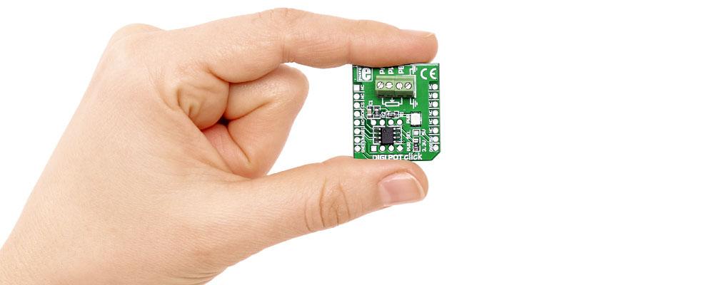 Potenciómetro digital MCP4161