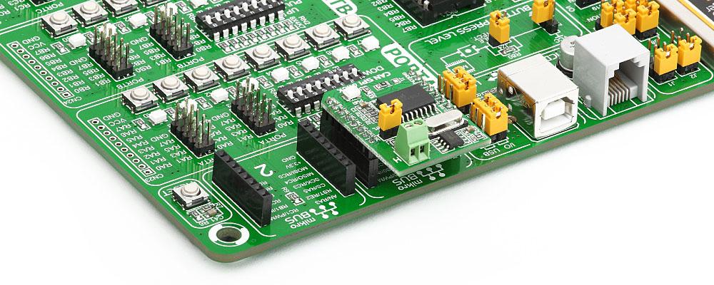 Convertidor de SPI a CAN MCP2551