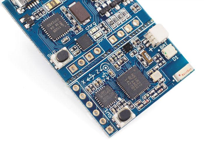 Tiny BLE-BLE + 6DOF plataforma Mbed