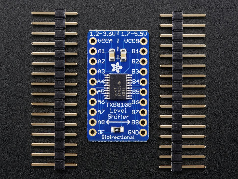 Convertidor logico Bi-direccional 8 canales TXB0108