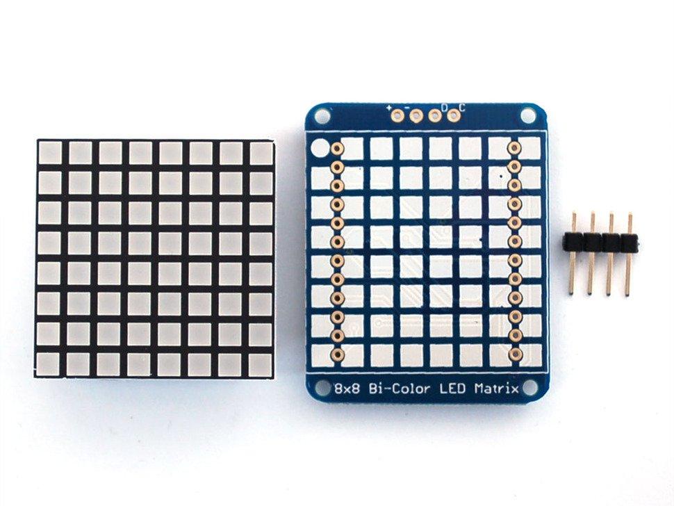 "Matriz de LED 8x8 Bi-Color 1.2"""
