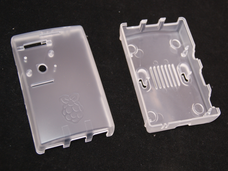 Caja transparente para Raspberry Pi MC-RP002-CLR