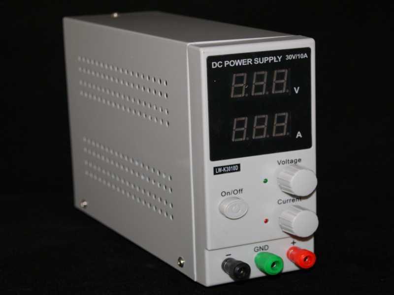 Fuente-de alimentación regulable 0-30v-10A LW-K3010D