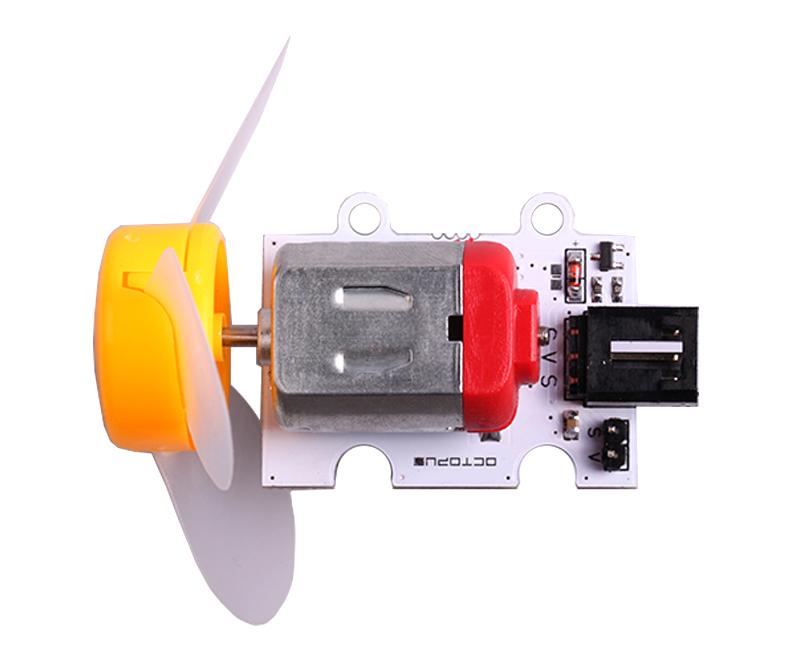 Octopus motor con hélices 5V 120mA