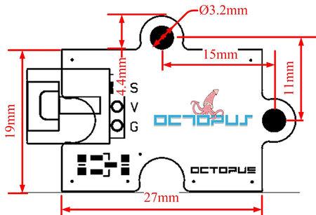 Octopus sensor de inclinación