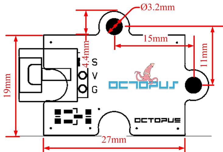 Octopus buzzer pasivo