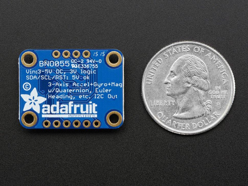 Adaruit 9-DOF sensor de orientación absoluta BNO055
