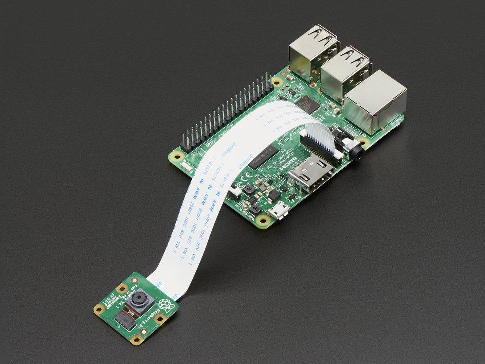Cámara Raspberry Pi V2 8-megapixeles