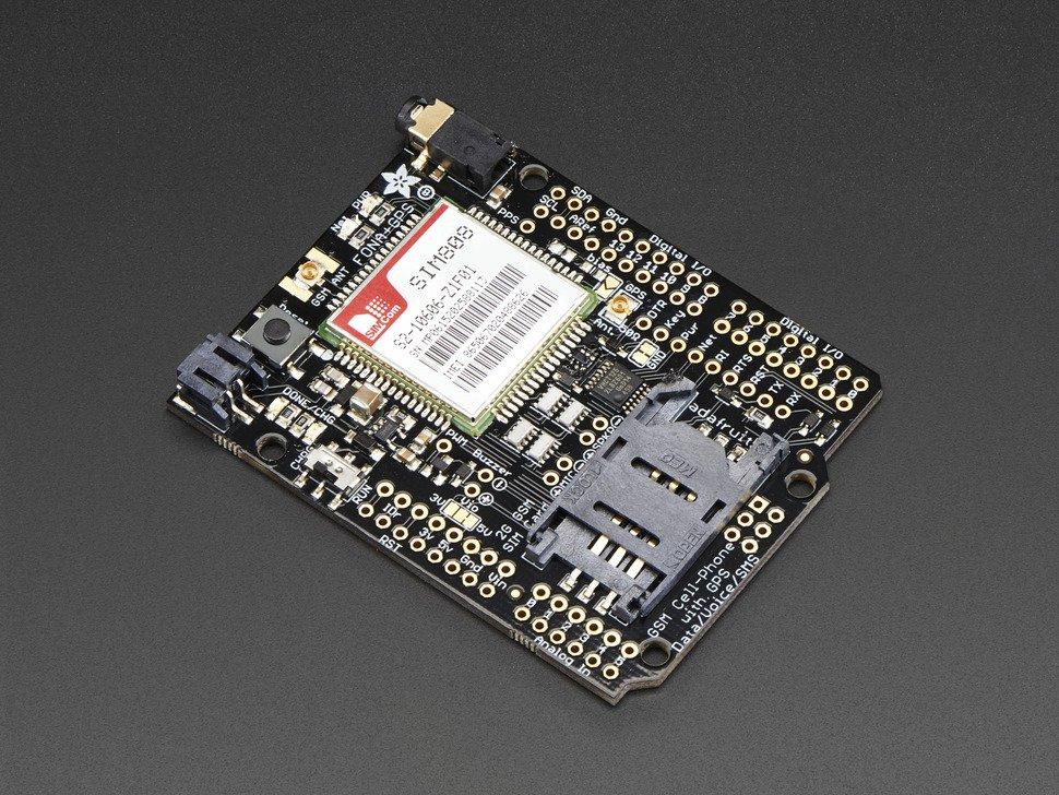 Shield FONA 808 GSM GPS Arduino