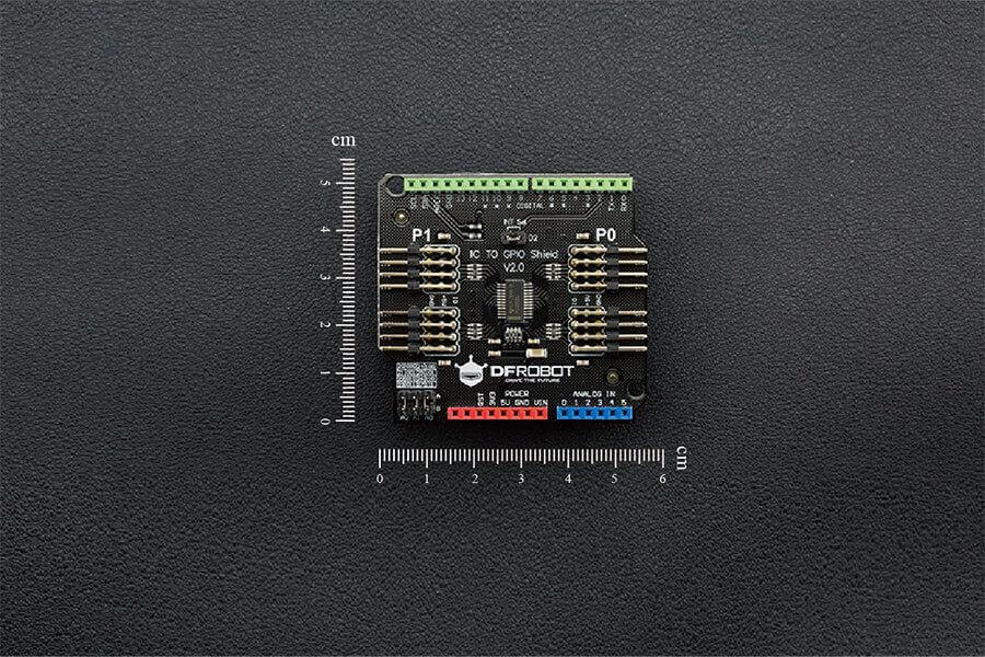 Shield IIC a GPIO V2.0-2
