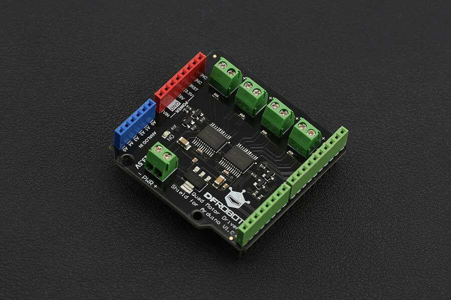 Shield Quad motor DC para Arduino-1