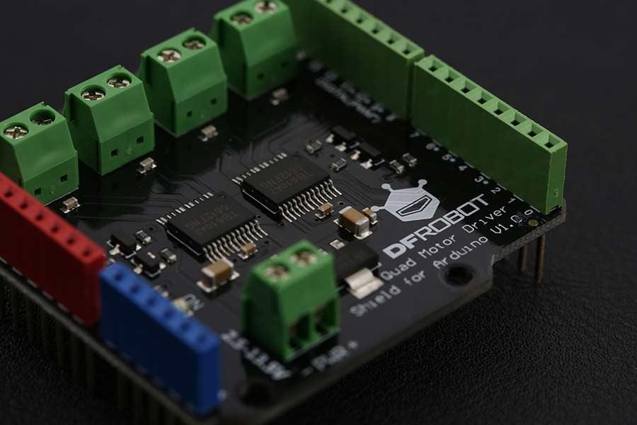 Shield Quad motor DC para Arduino-2
