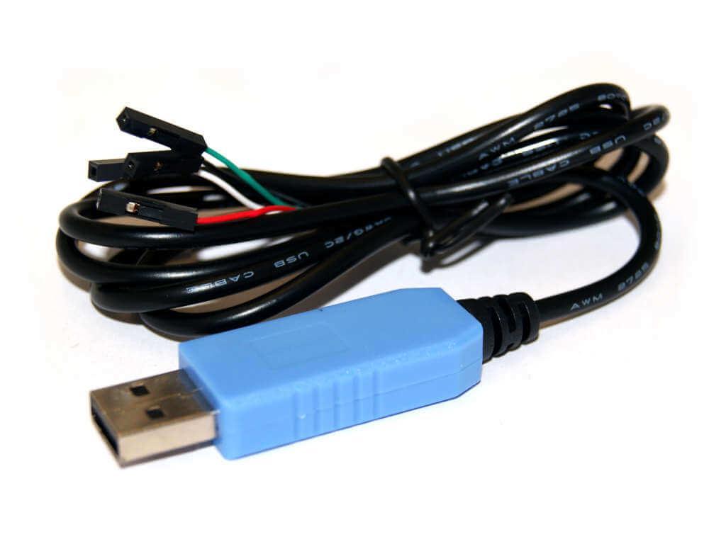 Cable USB a TTL serial para Raspberry Pi/BeagleBone