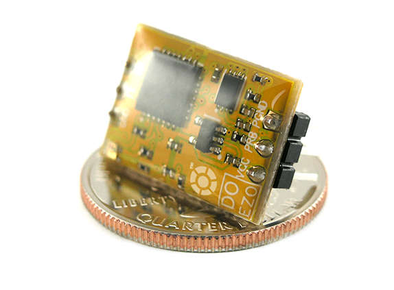 Circuito sensor EZO de oxígeno disuelto