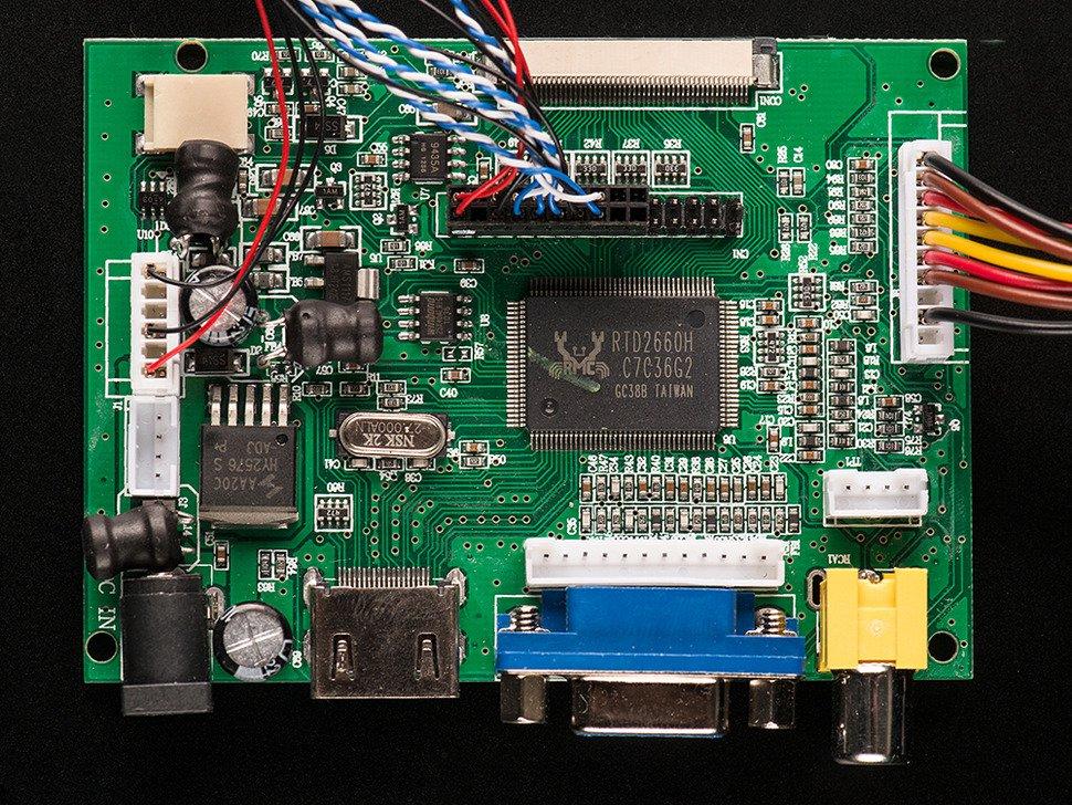 """HDMI 4 para Raspberry Pi de 10.1"""""""