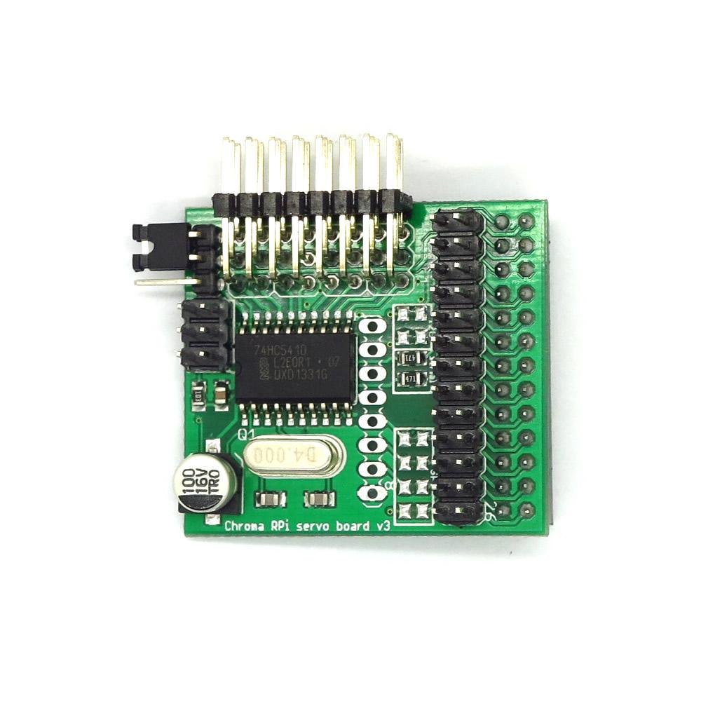 Tarjeta de control de servos Chroma para Raspberry Pi