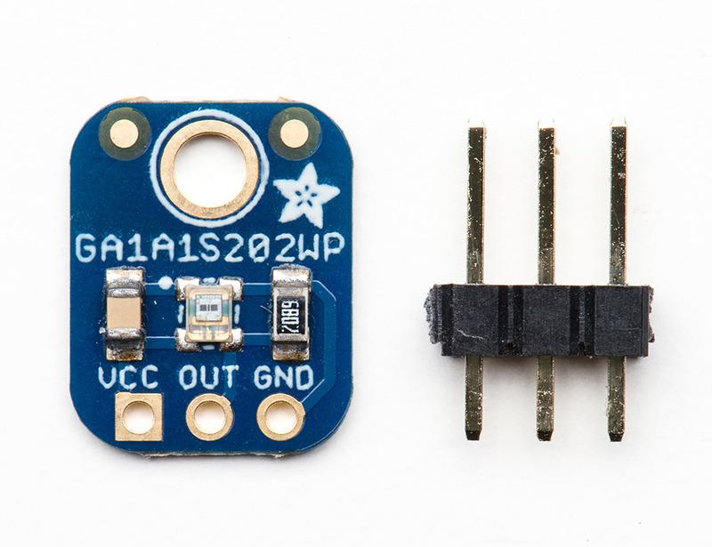 Sensor de luz escala analógica GA1A12S202