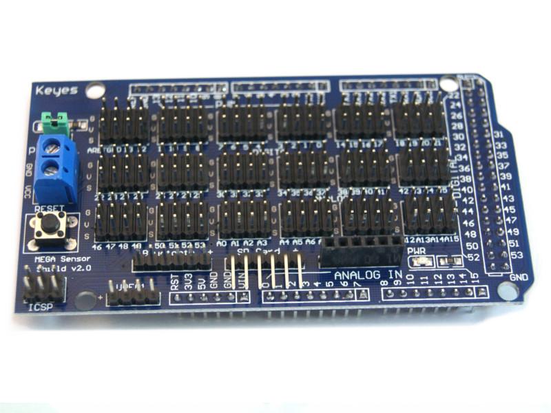 Shield de expansión Arduino MEGA