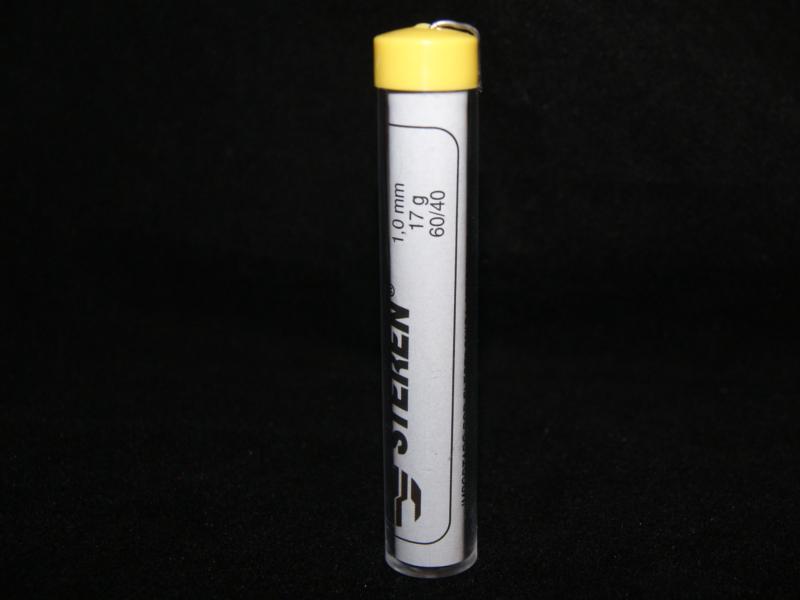 Tubo de soldadura aleación estaño/plomo (60/40)