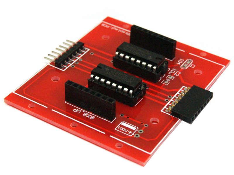 Módulo controlador de matriz 8x8 74HC595 SPI