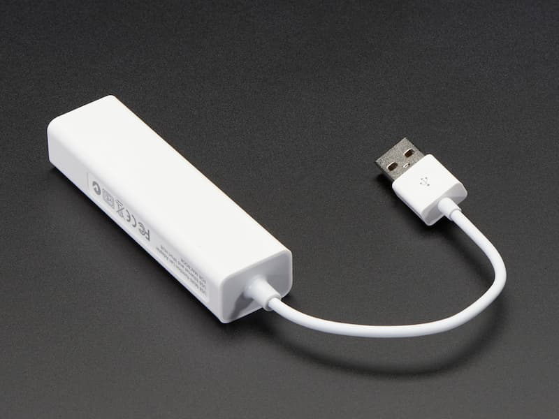 Hub USB 2.0 y Ethernet