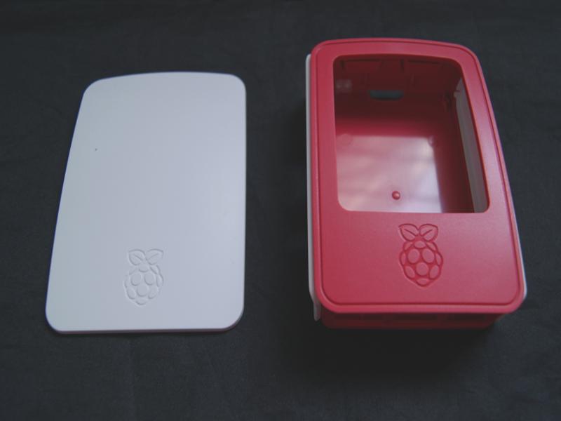 Vista frontal, Case para Raspberry Pi 3 Modelo B