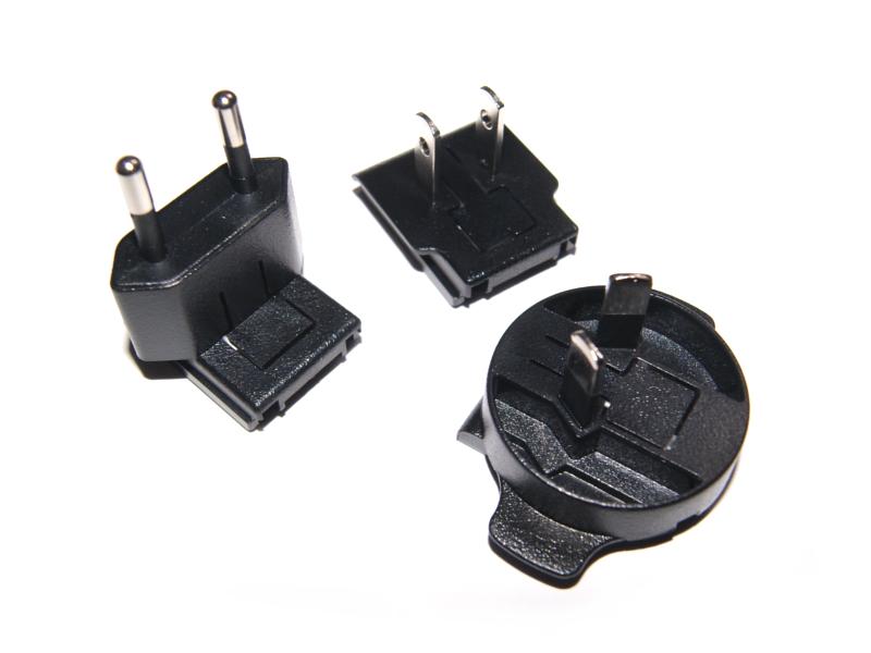 Vista frontal de adaptadores de eliminador T5989DV para Raspberry 5V 2.5A