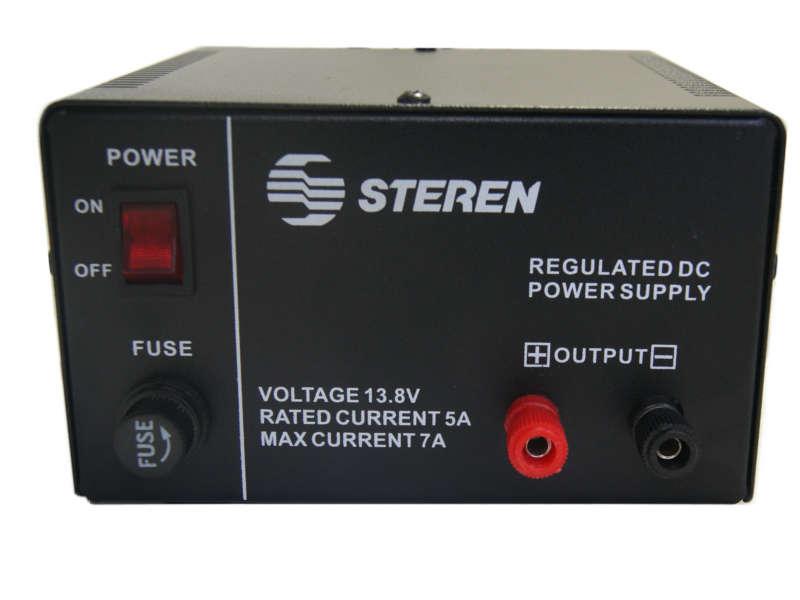 Fuente de poder reguladora de 13.8v de 5 a 7A