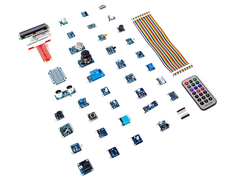 Kit de 37 sensores para Raspberry Pi