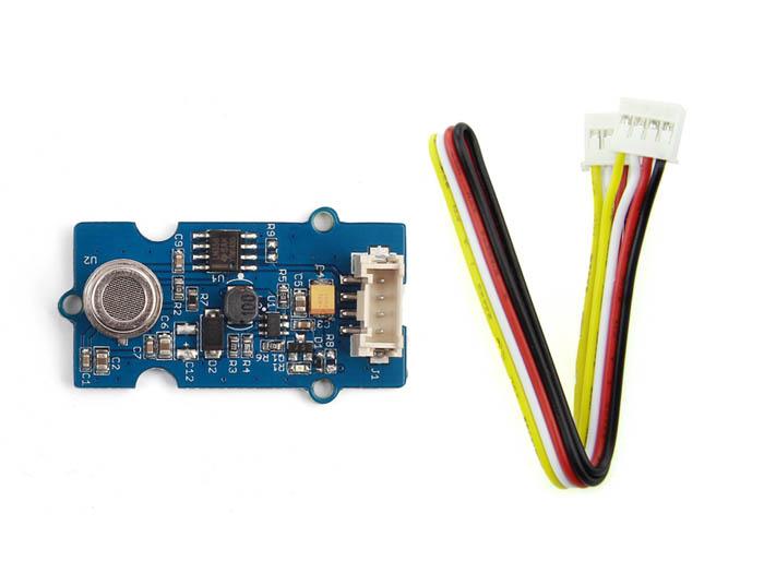 Vista frontal, Sensor de calidad de aire v1.3 - Grove