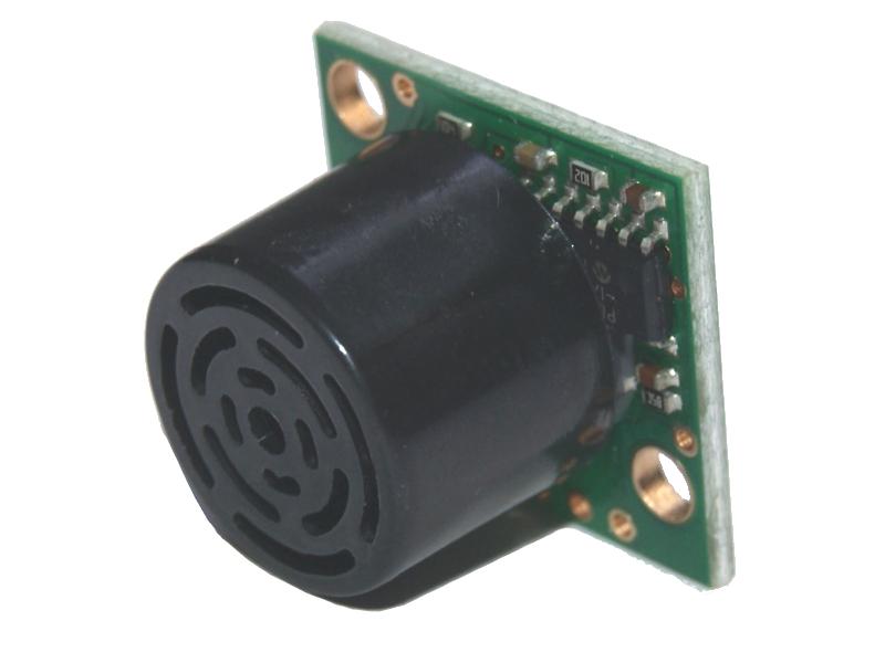 Vista frontal, Sensor LV MaxSonar EZ2