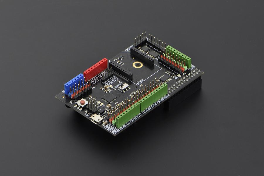 Shield para Raspberry Pi modelo B con Arduino