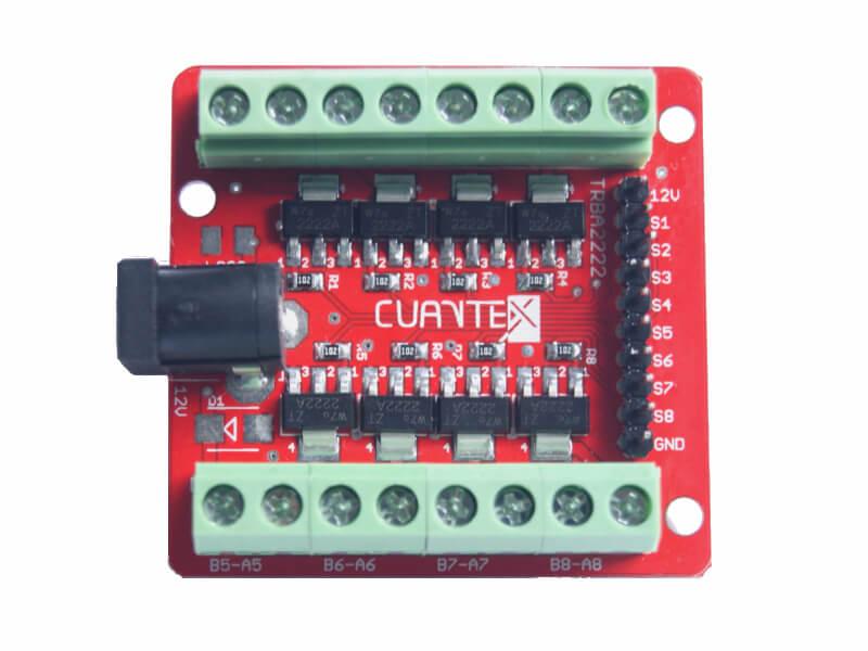 Modulo de potencia con transistores PTZ2222A