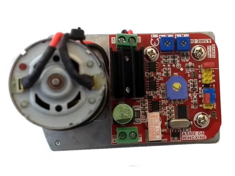 Servomotor ASME-04B alto torque 380 Kg/cm
