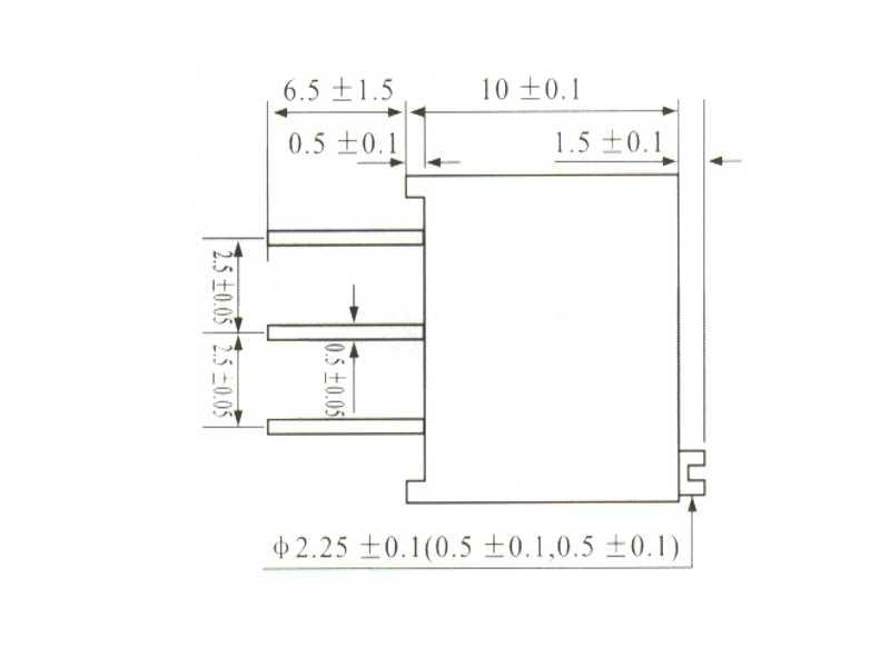 Trimpot de precisión 3296 1 KOhms