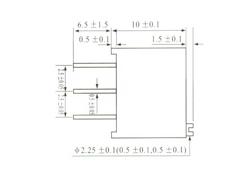 Trimpot de precisión 3296 1 MOhms