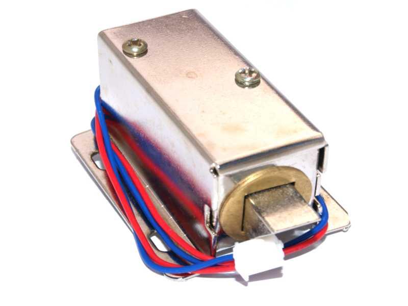 Cerradura eléctrica con solenoide