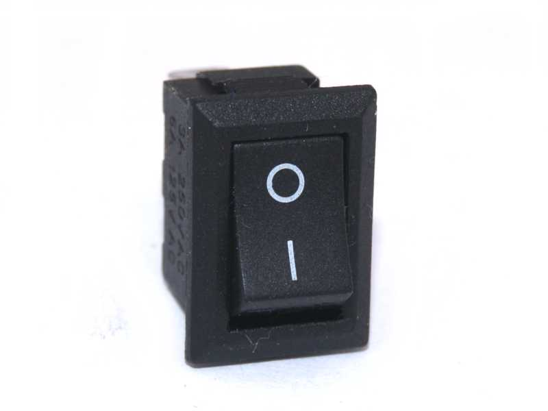 Interruptor color negro