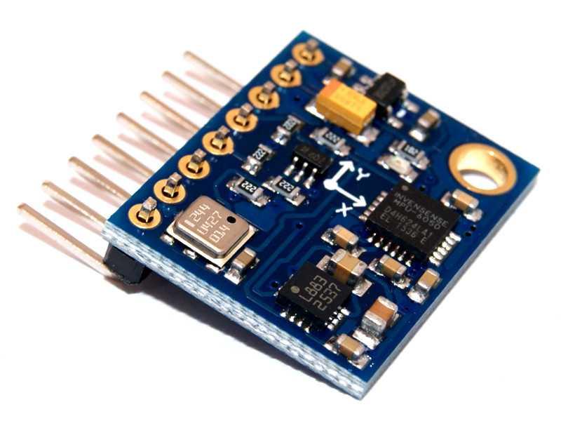 Módulo medición inercial GY-87 (MPU6050 + HMC5883L + BMP180)