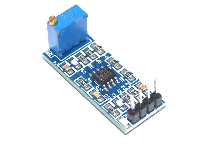 Módulo amplificador operacional dual LM358