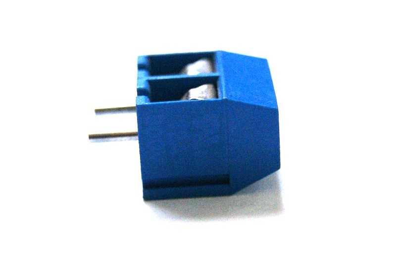 Terminal tornillo PCB chico