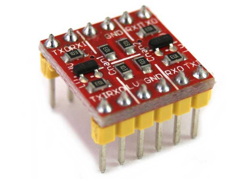 BSS138 convertidor lógico 3.3v 5v
