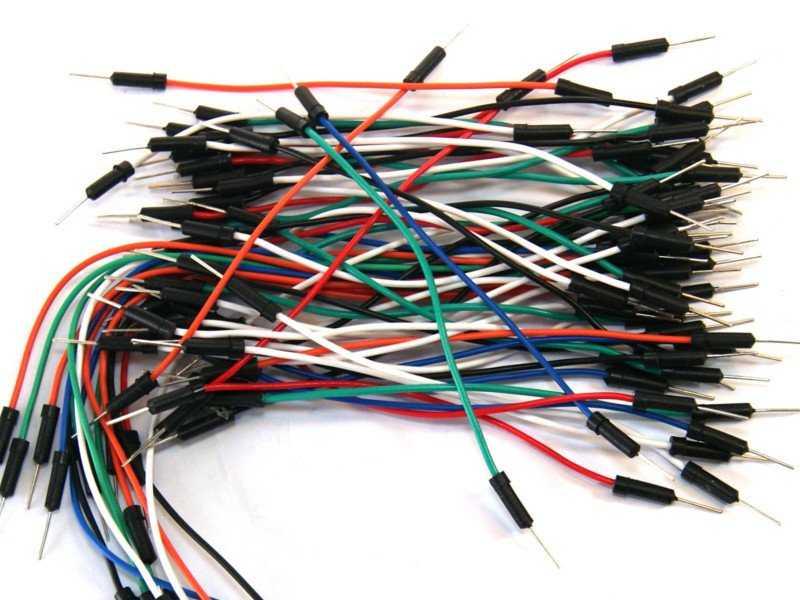 Cables dupont para protoboard macho-macho