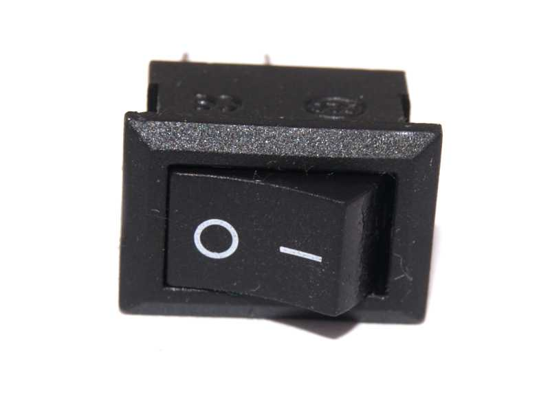 Interruptor mini color negro