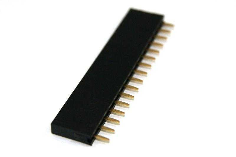 pin hembra