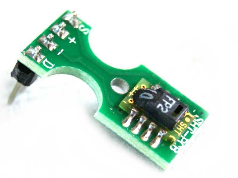 Sensor de humedad atmosférica SHT10
