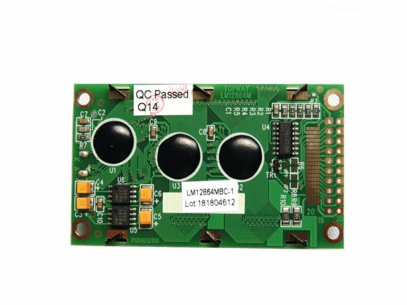 Reverso, Pantalla LCD 128x64 KS0108