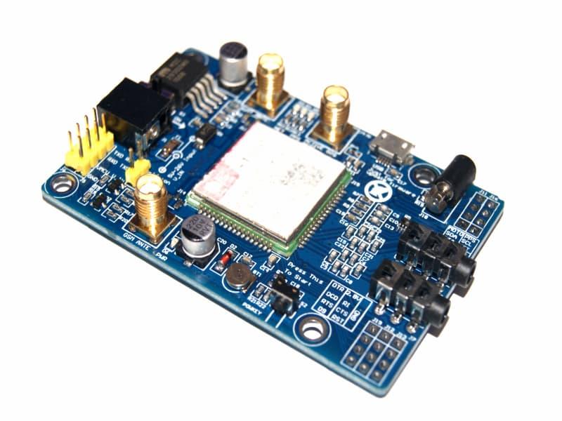 SIM808 Módulo GSM/GPRS/GPS con antena GPS