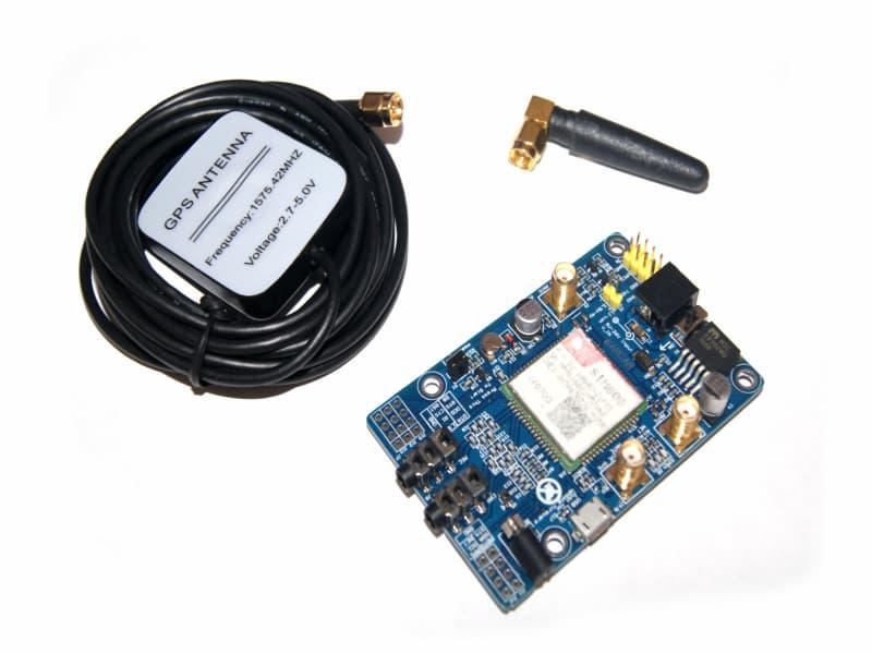 SIM808 Módulo GSM GPRS GPS con antena GPS
