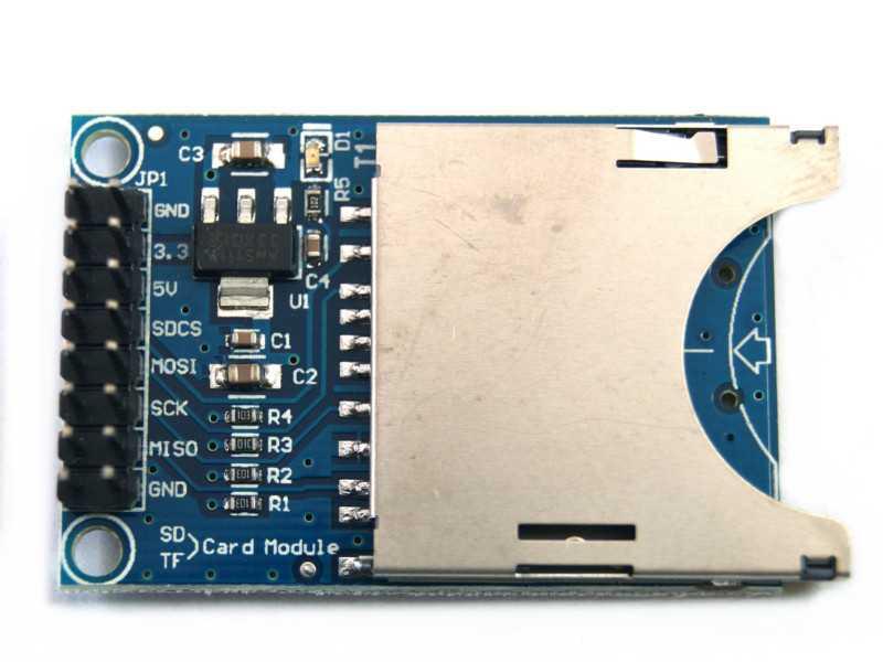 Modulo interfaz para memoria SD
